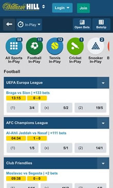 college bet william hill mobile sportsbook