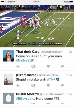 Watch NFL Live Twitter App